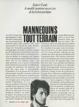 Photo Magazine France, April 1980